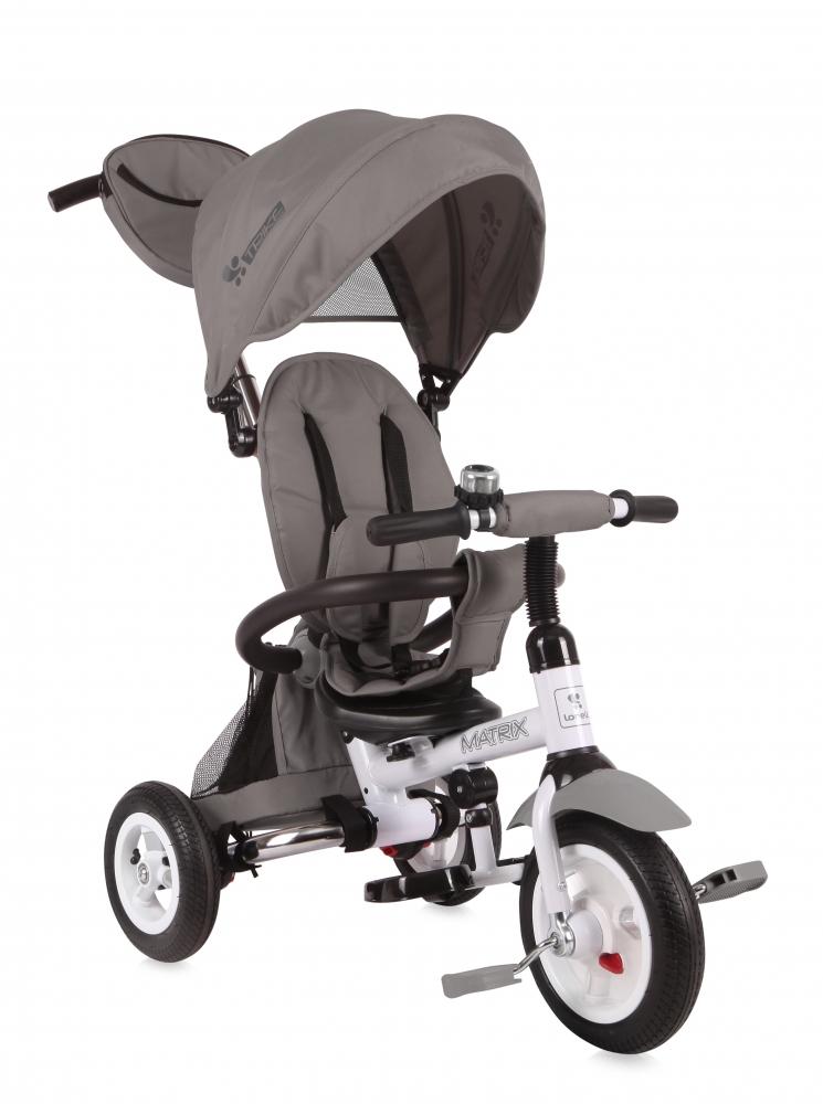 Tricicleta Matrix Air Grey din categoria La Plimbare de la LORELLI