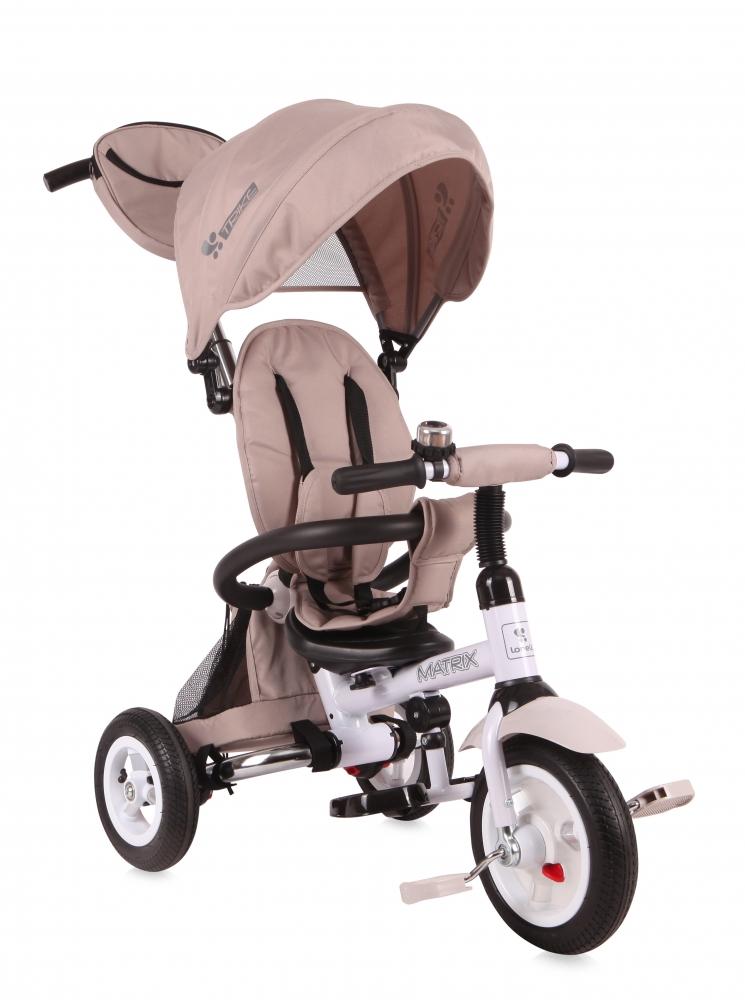 Tricicleta Matrix Air Ivory din categoria La Plimbare de la LORELLI
