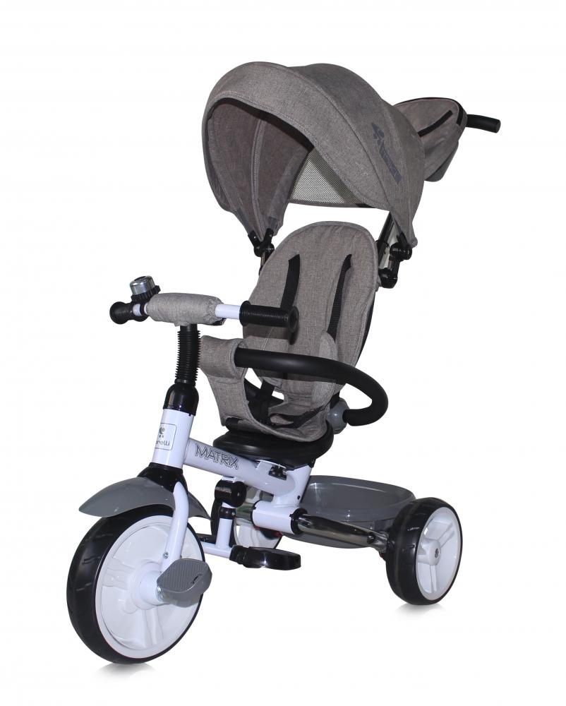 Tricicleta Matrix Grey din categoria La Plimbare de la LORELLI