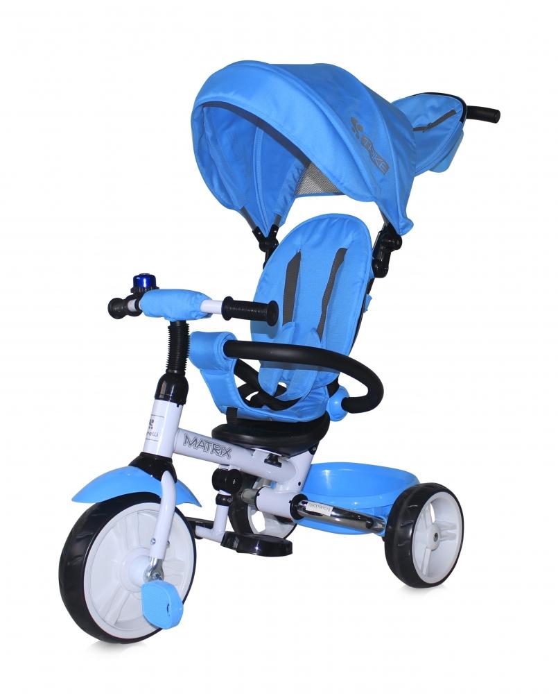 Tricicleta Matrix Light Blue din categoria La Plimbare de la LORELLI