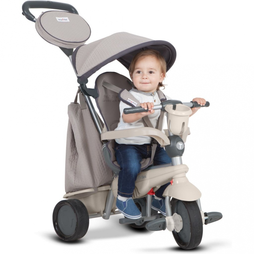 Tricicleta Smart Trike Deluxe by toTs 4 in 1 Grey