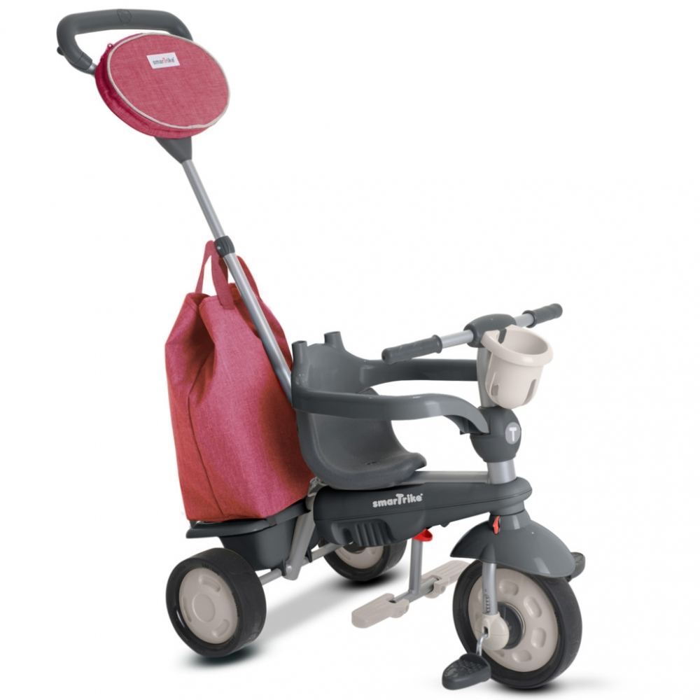 Tricicleta 4 in 1 Smart Trike Voyage Red