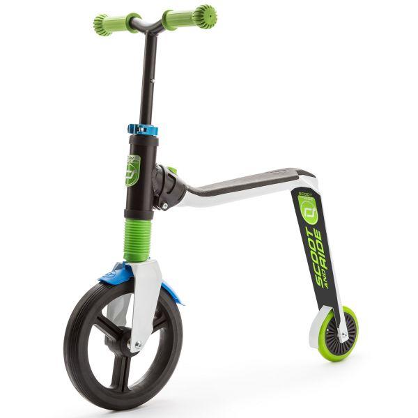 Trotineta 2 in 1 Scoot Ride HighwayFreak 3-6 ani White Green Blue
