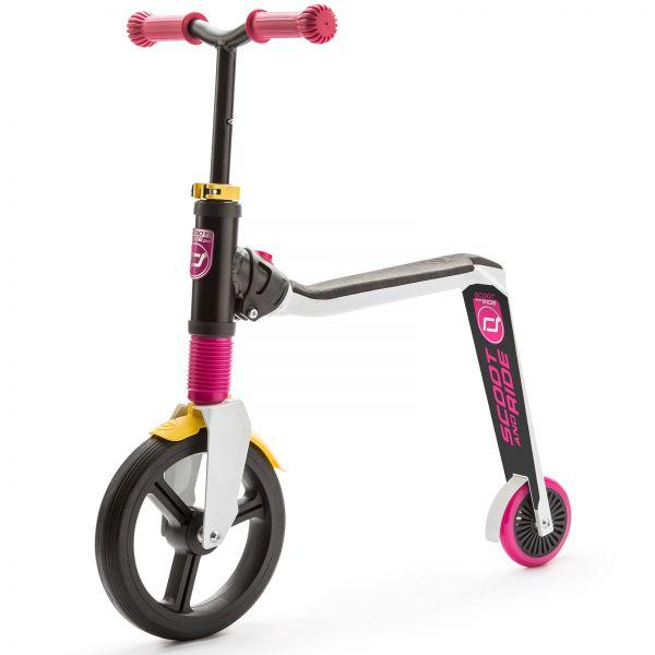 Trotineta 2 in 1 Scoot Ride HighwayFreak 3-6 ani White Pink Yellow imagine