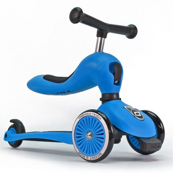 Trotineta 2 in 1 Scoot Ride HighwayKick 1 Blue 1-5 ani