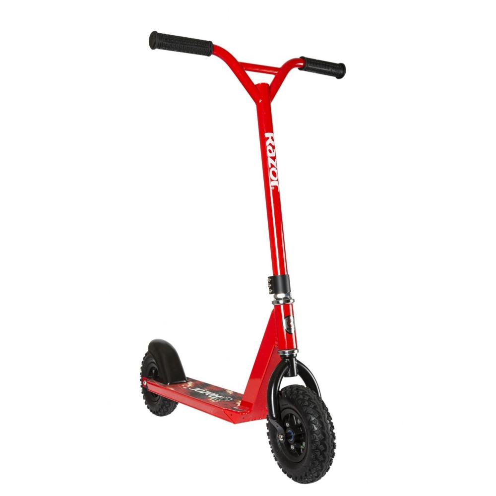 Trotineta Offroad Razor Dirt Scooter Rosu