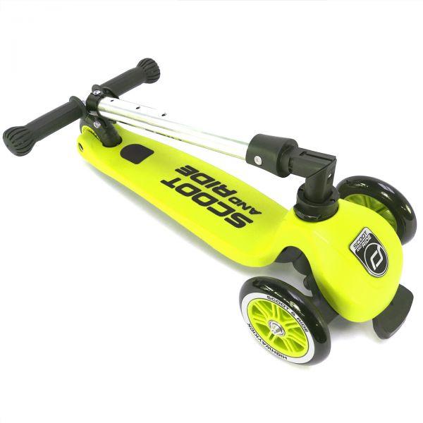 Trotineta Scoot Ride HighwayKick 3 Lime 3-6 ani imagine