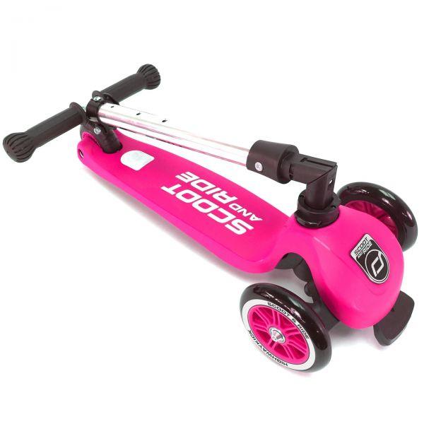 Trotineta Scoot Ride HighwayKick 3 Pink 3-6 ani