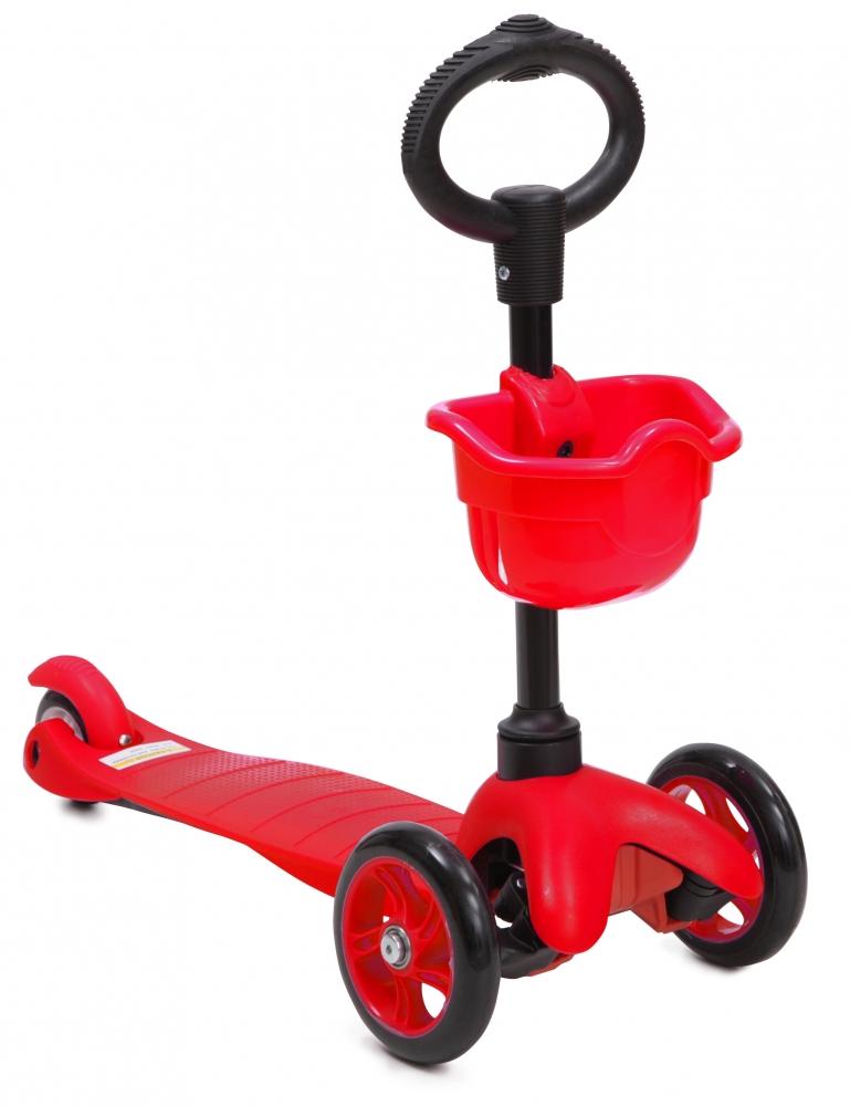 Trotineta multifunctionala 3 in 1 Scooter Red