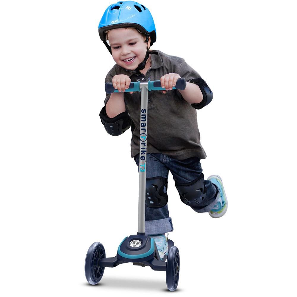 Trotineta pentru copii Smart Trike T3 Blue imagine