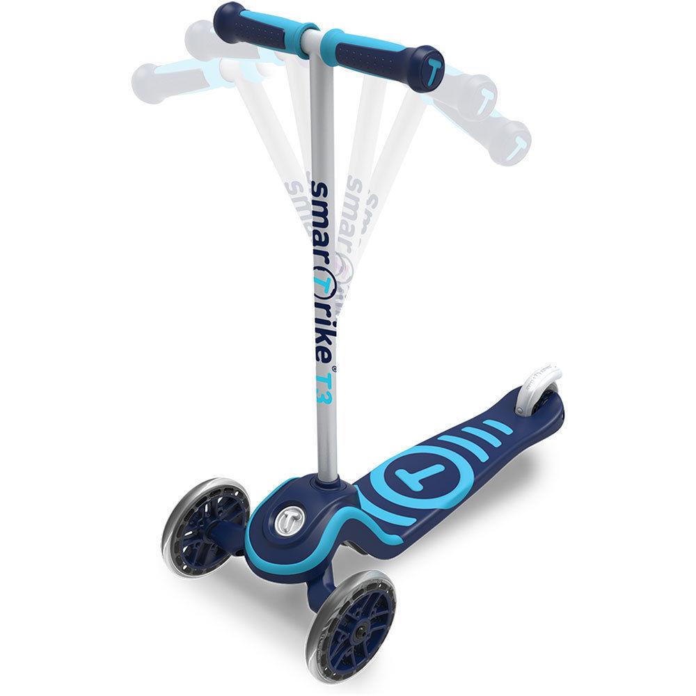 Trotineta pentru copii Smart Trike T3 Blue
