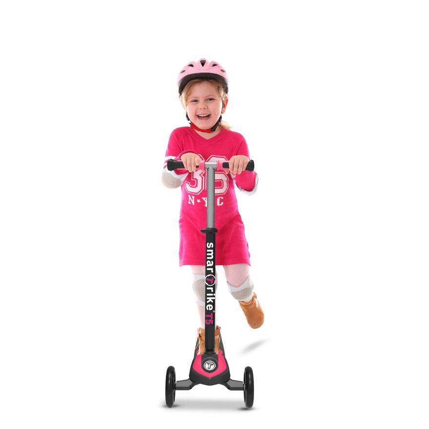 Trotineta pentru copii Smart Trike T5 Pink