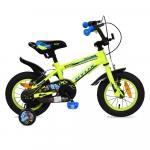 Bicicleta pentru copii Byox Monster Green 12 inch