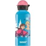 Bidon Sigg din aluminiu Anna & Elsa 0.6l