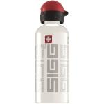 Bidon Sigg din aluminiu Siggnature white 0.6L