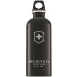 Bidon Sigg din aluminiu Swiss Emblem black 0,6L