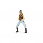 Calareata albastra figurina Papo