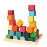 Cuburi mozaic mediu