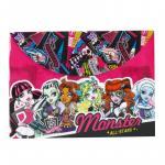 Dosar plic A4 pp cu buton Monster High All Stars