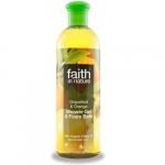 Gel de dus si spuma de baie cu grapefruit si portocala Faith in Nature 400 ml