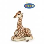 Girafa sezand figurina Papo