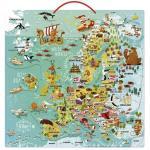 Harta Europa Magnetica Poetica