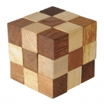 "Joc logic din lemn ""Crazy Cube"""