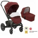 Carucior multifunctional Chrome Deluxe Cranberry 2 in 1 Limited Edition