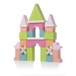 Set constructii din lemn Cubika Castel
