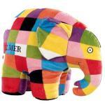 Jucarie din plus Elefantul Elmer 25 cm