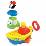 Jucarie pentru baie Barcuta pinguinului