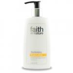 Lotiune de corp revitalizanta cu ulei de dovleac organic Faith in Nature 150 ml