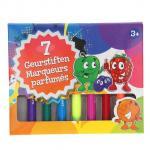 Markere parfumate, 7 culori - Grafix