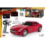 Masina Mercedes SLS AMG cu radiocomanda scara 1:28