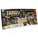 Pistoale Blaster de jucarie, set cu gloante de spuma si tinte - Grafix