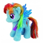 Plus licenta RAINBOW DASH My Little Pony (35 cm) - Ty