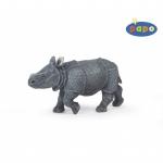 Pui de rinocer indian figurina Papo