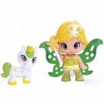 Figurine Pyp cu animale - Zana verzulie cu unicorn