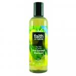 Sampon anti-matreata cu lamaie si tea tree pt. toate tipurile de par Faith in Nature 250 ml
