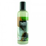 Sampon cu cocos pt. par normal sau uscat Faith in Nature 250 ml