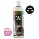 Sampon cu cocos pt. par normal sau uscat Faith in Nature 400 ml