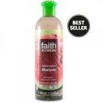 Sampon cu pepene pt. par normal sau uscat Faith in Nature 400 ml