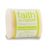 Sapun solid cu ananas si lime Faith in Nature 100 g