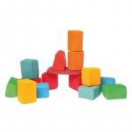 Set Waldorf de constructie cu 15 forme neregulate