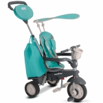 Tricicleta 4 in 1 Smart Trike Voyage Turqoise