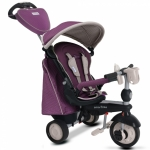 Tricicleta 5 in 1 Smart Trike Recliner Infinity Purple