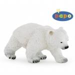 Ursulet polar mergand figurina Papo