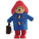 Ursuletul Paddington cu haina albastra si valiza 35 cm