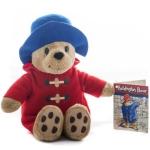 Ursuletul Paddington cu haina rosie 16 cm