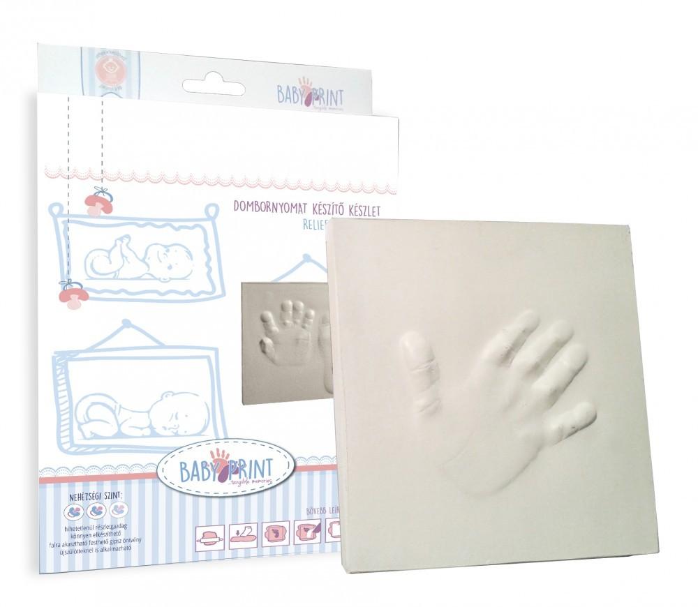 Amprenta Ghips in Relief Baby Print Relief